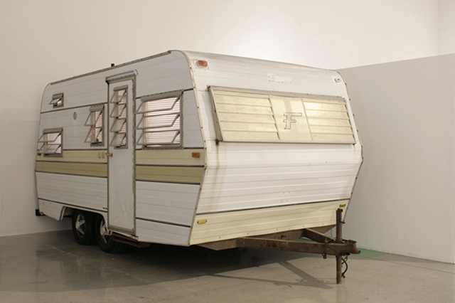 (Installation View) 1968 Falcon Flyte Mobile Home 2007