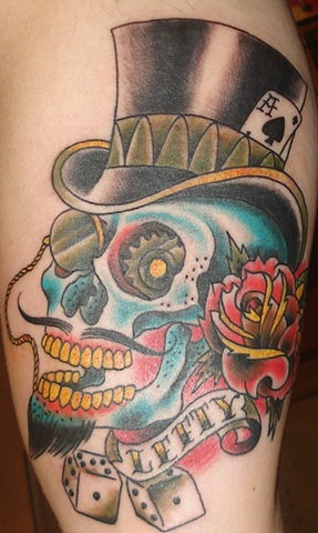 Top Hat Tattoo