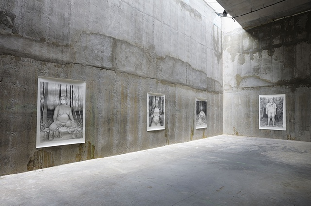 "Installation view, Gasser Grunert, ""Where I Have Lived and What I Live For"""